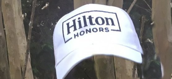 Hilton Honors cap given to TJ