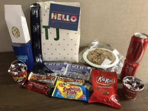 Bag of Goodies that Hampton Inn Youngstown West ga