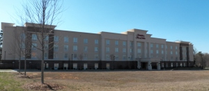 A view of the Huntersville Hampton Inn & Suites