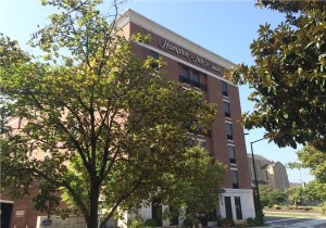 A view of the Hampton Inn & Suites Downtown Knoxville