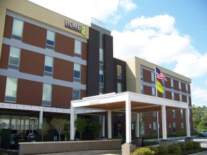 A view of the Home2 Suites in Fayetteville,NC