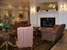 Homewood Suites inviting lobby