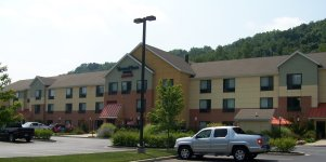 A view of the TownePlace Suites in Huntington,WV